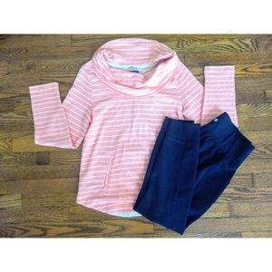 Tommy Hilfiger Cowl Neck AthLuxe Sweater Pullover